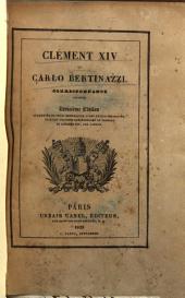 Clément 14. et Carlo Bertinazzi. Correspondance inedite
