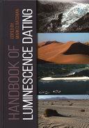 Handbook of Luminescence Dating