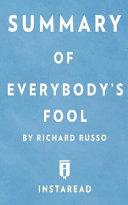 Summary of Everybody s Fool
