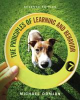 The Principles of Learning and Behavior PDF
