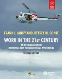 WORK IN THE 21ST CENTURY  AN INTRODUCTION TO INDUSTRIAL AND ORGANIZATIONAL PSYCHOLOGY  2ND ED PDF
