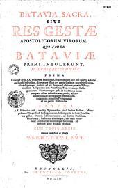 Batavia sacra