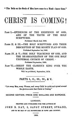 Christ is coming  etc  pt  1 PDF