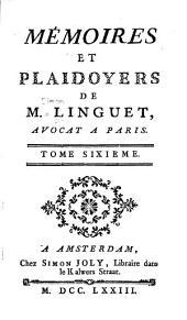 Memoires et plaidoyers ...