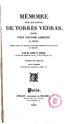 M  moire sur les lignes de Torres Vedras     PDF