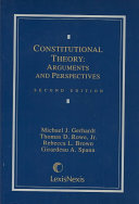 Download Constitutional Theory Book
