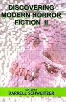 Discovering Modern Horror Fiction II PDF