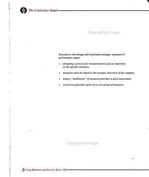 Case Studies in Strategic Performance Measurement PDF
