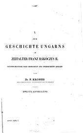 Archiv für österreichische Geschichte: Volumes43à44