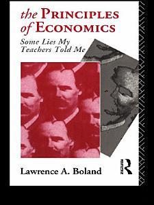 The Principles of Economics Book