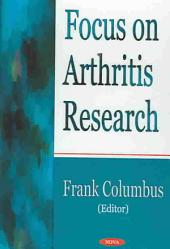 Focus on Arthritis Research