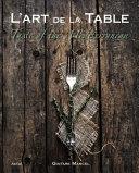 L  Art de la Table Book