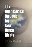 The International Struggle for New Human Rights PDF