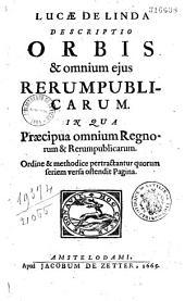 """""""Descriptio orbis et omnium ejus rerumpublicarum""""...."""