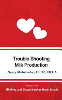 Trouble Shooting Milk Production