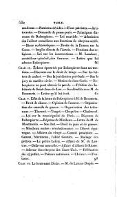 Mémoires authentiques de Maximilien de Robespierre, ornés de son portrait, et de facsimile de son écriture extraits de ses mémoirs: Volume2