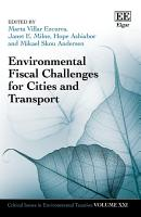 Environmental Fiscal Challenges for Cities and Transport PDF