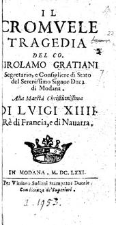Il Cromvele, tragedia [in five acts and in verse].