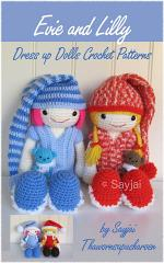 Evie and Lilly Dress up Dolls Crochet Patterns