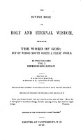 The Divine Book of Holy and Eternal Wisdom PDF