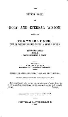 The Divine Book of Holy and Eternal Wisdom