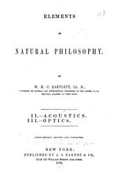 Elements of Natural Philosophy: Parts 2-3