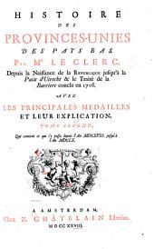 Histoire des Provinces-Unies des Pays Bas: Volume2