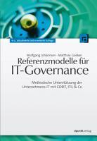 Referenzmodelle f  r IT Governance PDF
