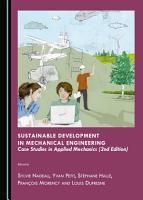 Sustainable Development in Mechanical Engineering PDF