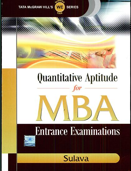 Quantitative Aptitude Mba PDF