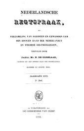 Nederlandsche rechtspraak, of Verzameling van arresten en gewijsden van den Hoogen raad der Nederlanden: Deel 101
