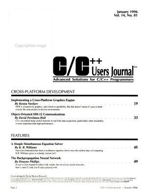 C C   Users Journal PDF