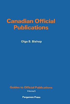 Canadian Official Publications PDF