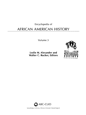 Encyclopedia of African American History PDF