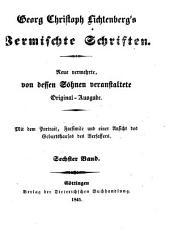 Vermischte Schriften: Briefe ; 2: Supplement zu allen früheren Ausgaben, Band 8