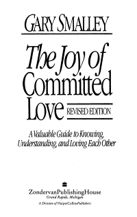 Joy of Committed Love