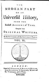 An Universal History, from the Earliest Account of Time: Volume 61