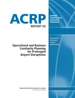 Operational and Business Continuity Planning for Prolonged Airport Disruptions