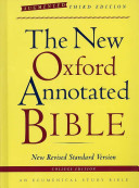 The New Oxford Annotated Bible  Augmented Third Edition  New Revised Standard Version