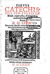 Parvus catechismus