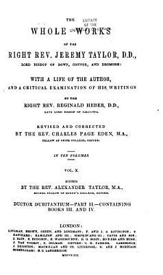Ductor dubitantium  part II  books III and IV PDF