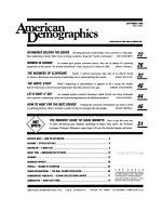 American Demographics PDF