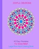 40 Easy Mandalas For Stress Relief