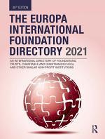 The Europa International Foundation Directory 2021