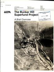 The Bunker Hill Superfund Project PDF