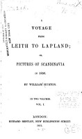 A Voyage from Leith to Lapland PDF