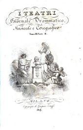 I Teatri Giornale drammatico musicale e coregrafico. Red. G. Ferrario e G. Barbieri: Volumi 2-3