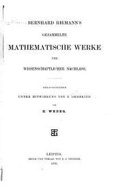 Gesammelte mathematische Werke und wissenschaftlicher Nachlass: Band 1