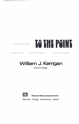 Writing To The Point Six Basic Steps Book PDF