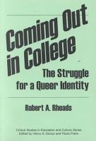 Coming Out in College PDF